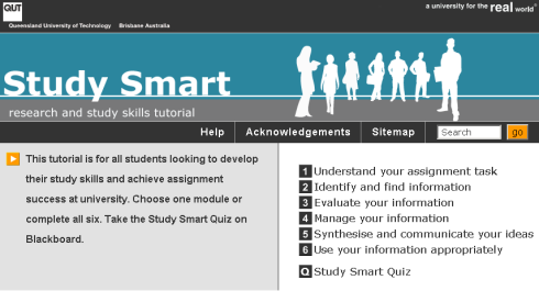 QUT's Study Smart tutorials