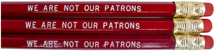 We are not our patrons